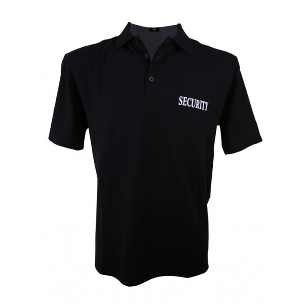 Security Polo Shirt Kurzarm Baumwolle