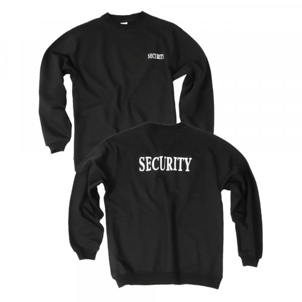 Security Sweatshirt Pullover langarm Herren