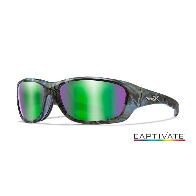 Wiley X Gravity Kryptek Green Sonnenbrille Polarisiert